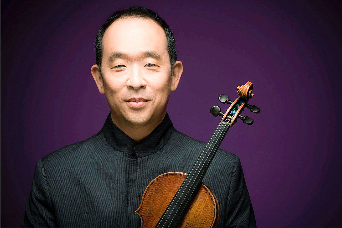 Michael Lim, concertmaster of the Pacific Northwest Ballet Orchestra, makes his Auburn Symphony debut Sunday. COURTESY PHOTO, Michael Lim