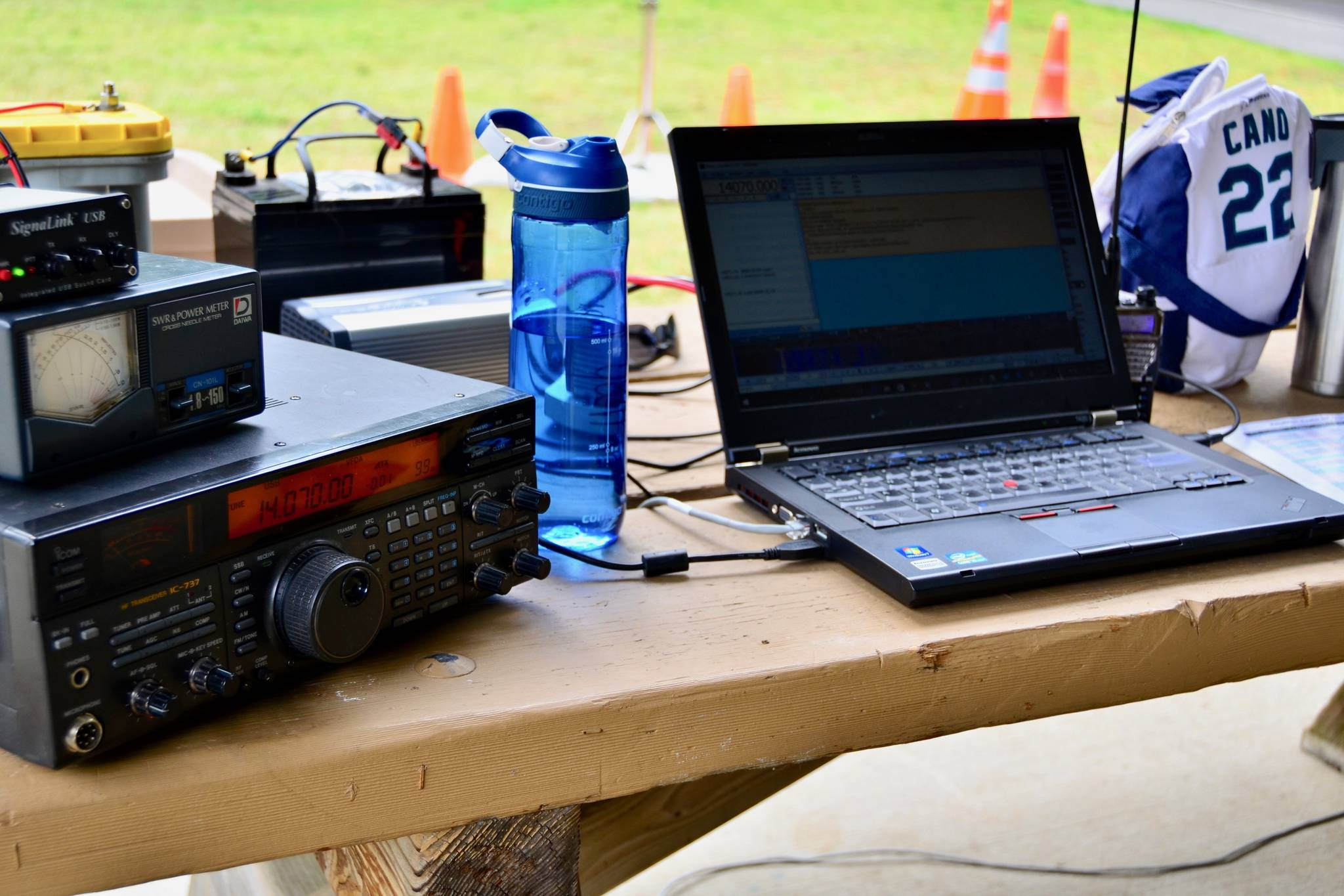Amateur Radio Field Day demonstrates ham radio's ability to work reliably under any conditions from almost any location and create an independent communications network. COURTESY PHOTO